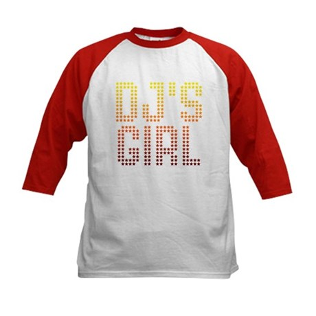 DJ's Girl Kids Baseball Jersey