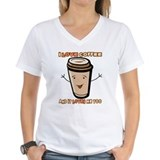 I Love Coffe and It Loves Me Too Shirt