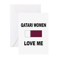 Qatari Women Love Me Greeting Card