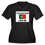 Portuguese Women Love Me Women's Plus Size V-Neck