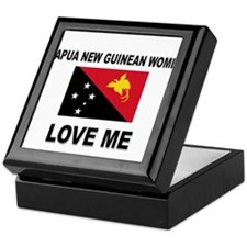 Papua New Guinean Women Love Me Keepsake Box