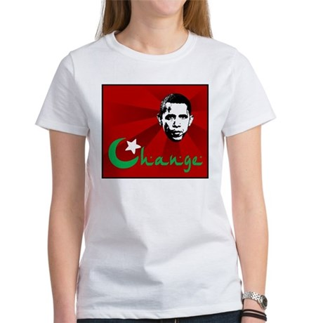 Anti-Obama: Change Women's T-Shirt