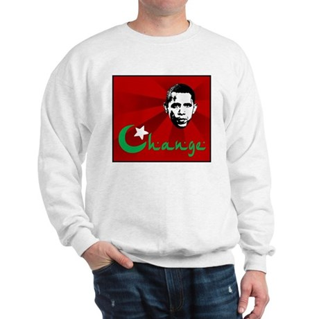 Anti-Obama: Change Sweatshirt