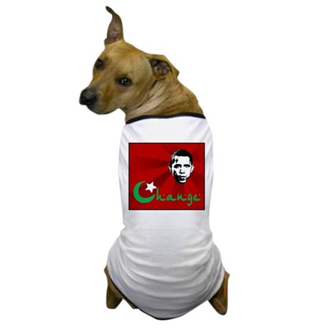 Anti-Obama: Change Dog T-Shirt