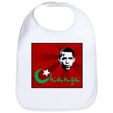 Anti-Obama: Change Bib