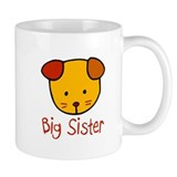 Dog Big Sister Small Mug