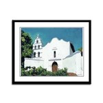 San Diego Mission Framed Panel Print