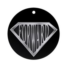 SuperForward(metal) Ornament (Round)