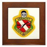Vermont SP Dive Team Framed Tile