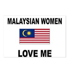 Malaysian Women Love Me Postcards (Package of 8)