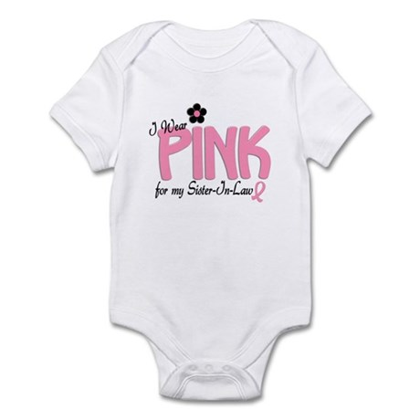 I Wear Pink For My Sister-In-Law 14 Infant Bodysui