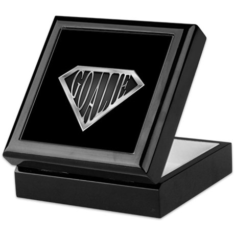 SuperGoalie(metal) Keepsake Box
