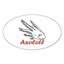 Axolotl Oval Decal