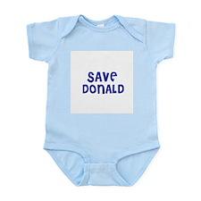 Save Donald Infant Creeper