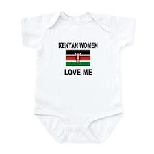 Kenyan Women Love Me Infant Bodysuit