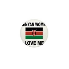 Kenyan Women Love Me Mini Button (10 pack)