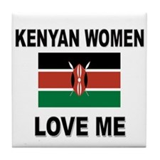 Kenyan Women Love Me Tile Coaster