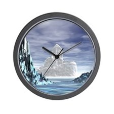 Ice Castle - Wall Clock