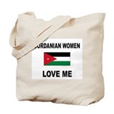Jordanian Women Love Me Tote Bag