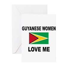 Guyanese Women Love Me Greeting Cards (Pk of 10)