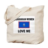 Guamanian Women Love Me Tote Bag