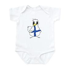 Lg Finnish Chick Infant Bodysuit