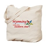Wyoming Eastern Star Tote Bag