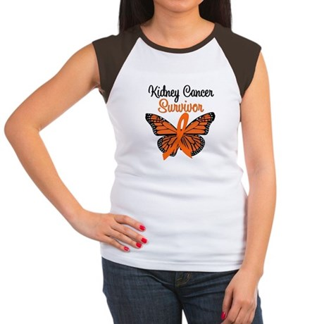 Kidney Cancer Women's Cap Sleeve T-Shirt