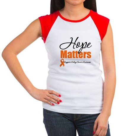 Kidney Cancer Hope Women's Cap Sleeve T-Shirt
