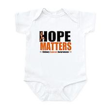 Hope Matters Kidney Cancer Infant Bodysuit
