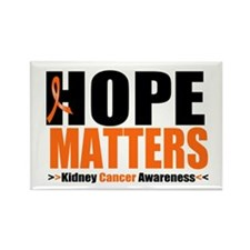 Hope Matters Kidney Cancer Rectangle Magnet (10 pa