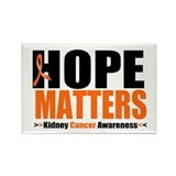 Hope Matters Kidney Cancer Rectangle Magnet