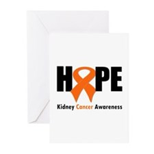 Kidney Cancer Hope Greeting Cards (Pk of 10)
