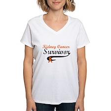 Kidney Cancer Grunge Shirt