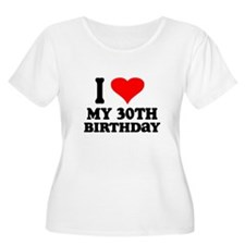 I Heart My 30th Birthday T-Shirt