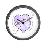 Mississippi Girl Wall Clock