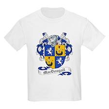 MacDougall Family Crest Kids T-Shirt
