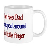 Ian Has Dad Small Mug