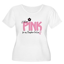 I Wear Pink For My Daughter-In-Law 14 T-Shirt