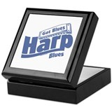 Got Blues Harp Keepsake Box