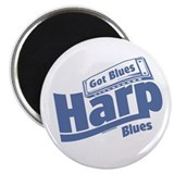 "Got Blues Harp 2.25"" Magnet (10 pack)"