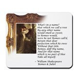 Romeo and Juliet Mousepad