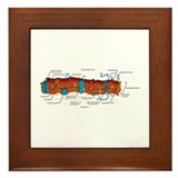 Cell Membrane Framed Tile
