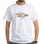 DNA Synthesis White T-Shirt