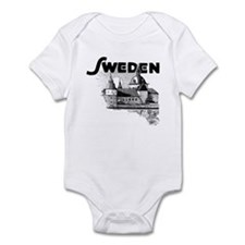 Sweden Castle Infant Creeper