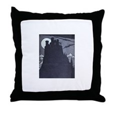 Castle Dracula Accent Pillow
