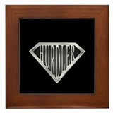 SuperHurdler(metal) Framed Tile