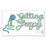 Getting Loopy! Rectangle Sticker
