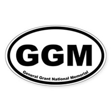 General Grant National Memorial Oval Decal