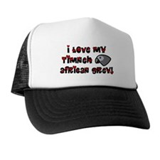 Anime Timneh African Grey Trucker Hat